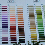 Mako cotton colour chart