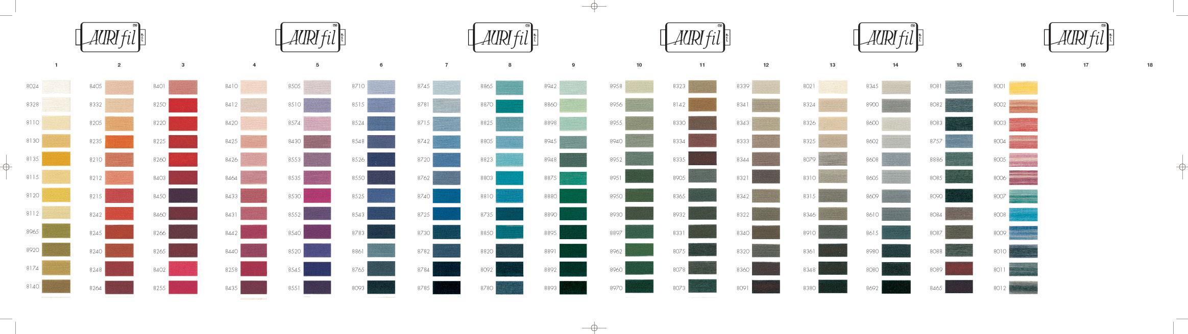 Aurifil lana wool threads bytowne threads